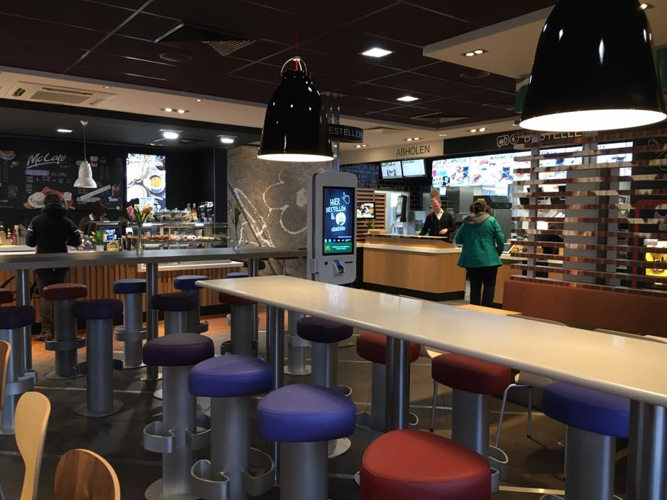 Front Counter and McCafé