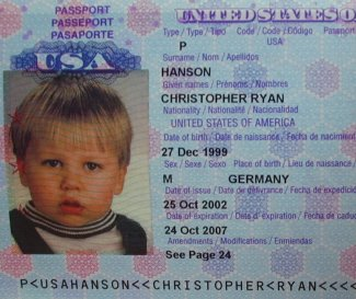 Christopher's passport